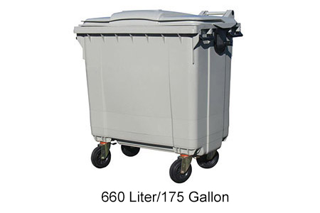 Otto 4-Wheel 175 Gallon Cart
